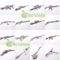 Random Army Gun Rifle AK47 Sword Knife Pirates Charm Pendant Necklace Cool 1 Pcs ID:3754