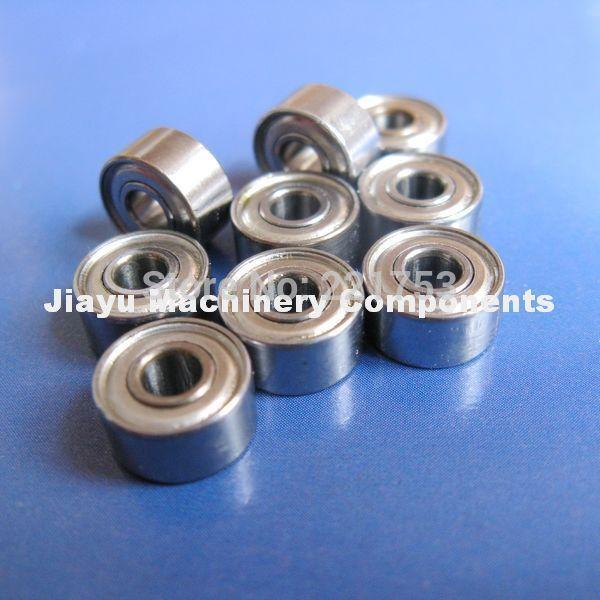 Free Shipping 10 PCS SMR72ZZ Bearings 2x7x3 mm Stainless Steel Ball Bearings DDR-720ZZ(China (Mainland))