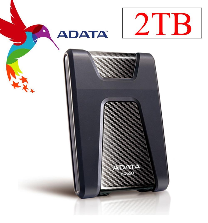 High Quality Brand ADATA HD650 2TB External HDD Hard Drive USB 3.0 2.5'' inch 2T Portable Diamond Portable Hard Drive Disk(China (Mainland))