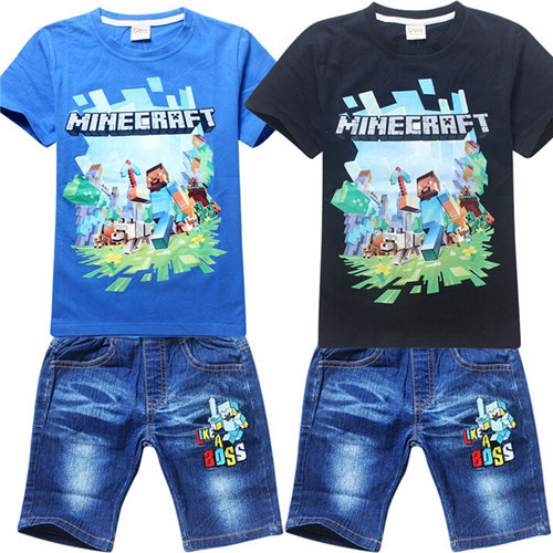 AliExpress.com Product - 2015 Boys Clothing Costume Europe And America New Cartoon Children Two Sets Of Baby Clothes Set T Shirt + Pants Short z147