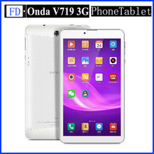 7 inch Onda V719 3G WCDMA Phone Call Tablet PC MTK8382 1.3GHz Quad Core 1GB RAM 8GB Rom Android 4.2 Dual Camera GPS tablet pc