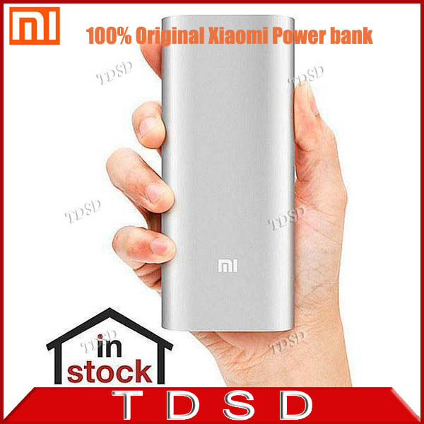 100% Original Xiaomi Power Bank 16000mAh Portable Charger Mi Powerbank External Battery Pack Backup powers for Iphone5S 6 Plus 6(China (Mainland))