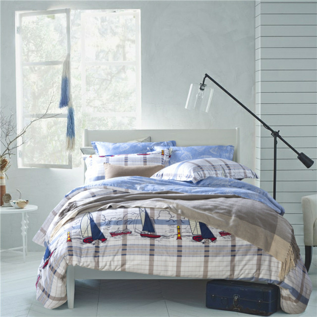 Nautical Bedding Collections Nautical Bedding Voyage Queen