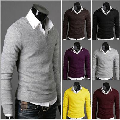 Мужской пуловер 2015 V  023 садовый светильник philips 15383 31 16