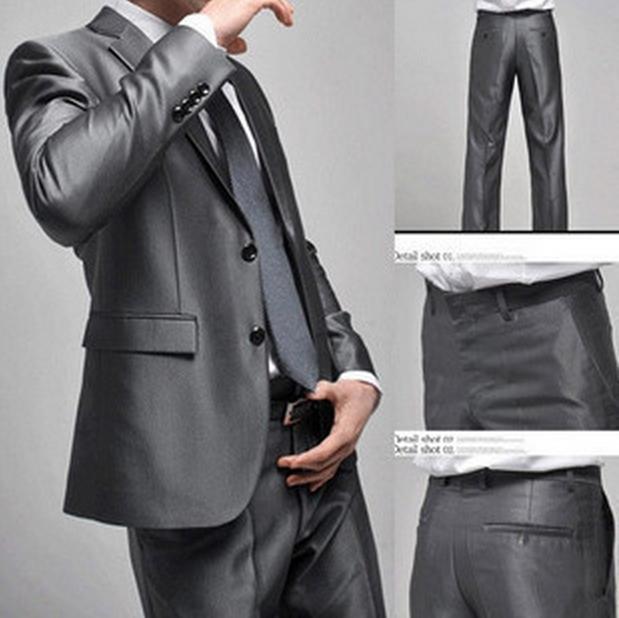 2015 New Arrival Men Suits Slim Custom Fit Terno masculino Brand Fashion Bridegroon Business Dress Wedding Suits Blazer tuxedo(China (Mainland))