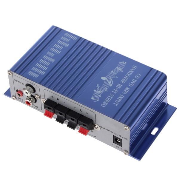 10pcs CD / DVD / MP3 Input Hi-Fi Car Stereo Audio Amplifier(China (Mainland))