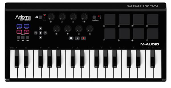 M-AUDIO Axiom AIR Mini 32 USB 32 key MIDI keyboard portable midi controller(China (Mainland))
