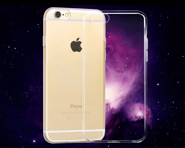 Clear TPU Case For Iphone 6 4.7inch Super Flexible Slim Crystal Back Protect Skin Rubber Phone Cover Fundas Silicone Gel Case I6(China (Mainland))