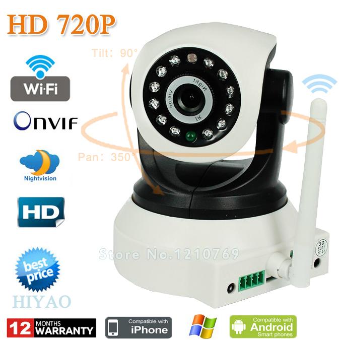 4XZoom CCTV camera IP Camera Wifi Wireless HD 720P P2P Security Camera system camaras de seguridad Freeshipping(China (Mainland))