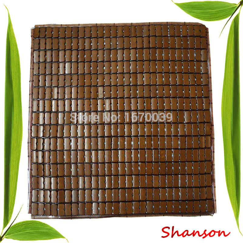 free shipping carbonized nature bamboo handmade antique car /office /classroom /seat cushion chair mats(China (Mainland))