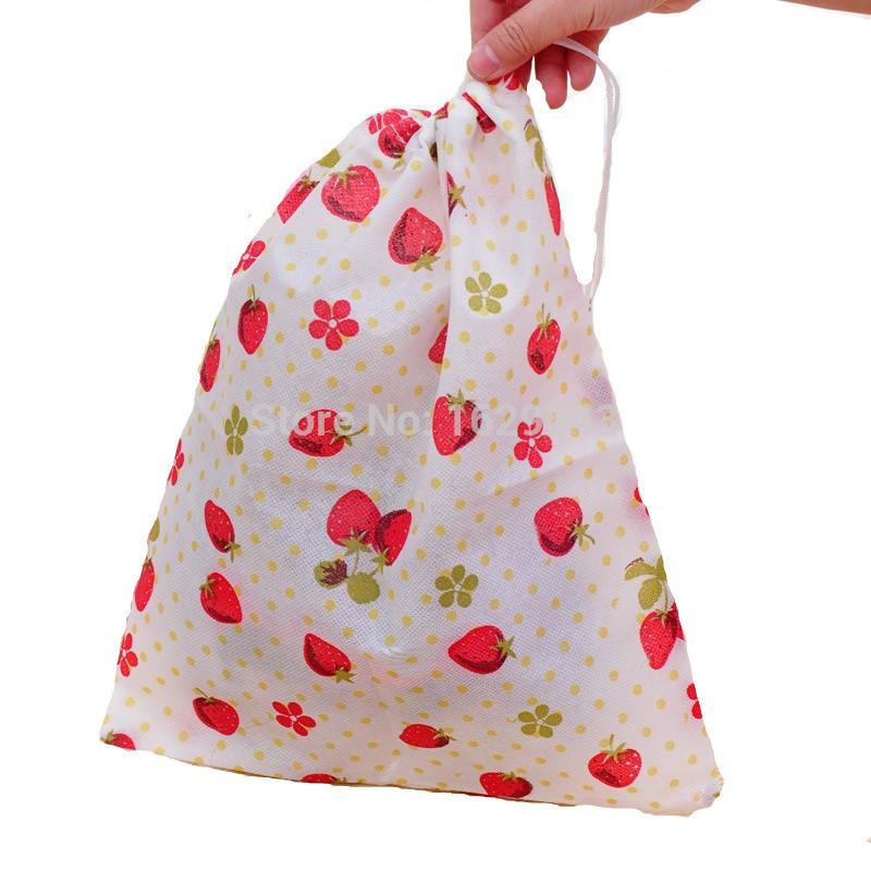 Printing Non-woven Shoes Pouch Bag Drawstring Shoes Dust Bag Portable Travel Drawstring Dust Bags Eco-friendly Storage Bag(China (Mainland))