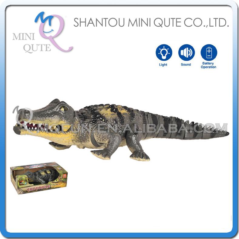 Mini Qute 48 cm plastic Godzilla Jurassic Park robot sound flash walk electronic dragon Dinosaur Crocodile model toy NO.1048(China (Mainland))