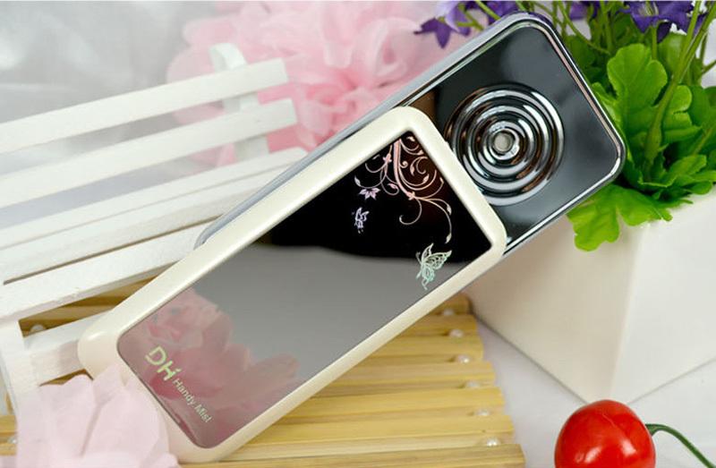 Chegada nova grátis frete portátil ferramentas à mão Nano Misture máquina da beleza do pulverizador Facial cor branca Facial Spa(China (Mainland))