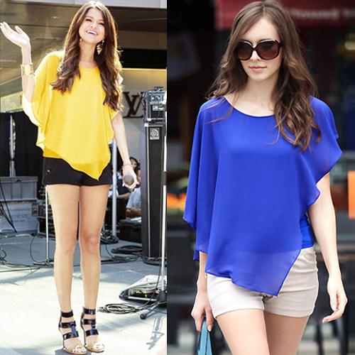 Женские блузки и Рубашки / Camisas Blusa 2015 Ruffles XXL WCX784 женские блузки и рубашки blusa 2015 xxl wcx700