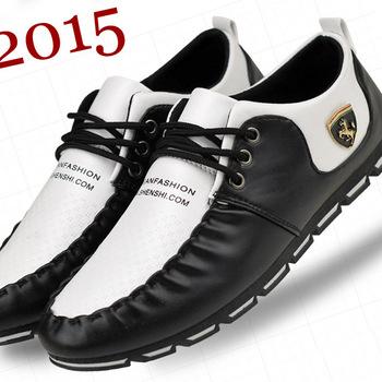 2015 новинка мужчины тапки англии мужской обуви весна осень мужская ботинок квартир ...
