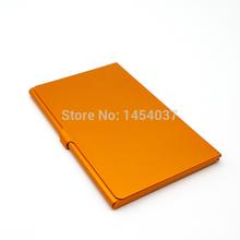 Ultra thin Aluminum Business ID credit card case passport holder cover Kabaw Titular do cartao Tarjetero