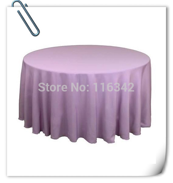 "Factory Price !!!! 20pcs Purple 70"" Round Polyester Plain Table Cloth For Wedding Event &Party &Hotel &Resturant Free Shipping(China (Mainland))"