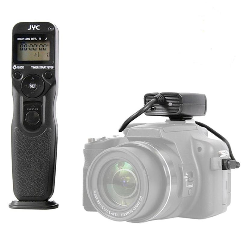 Camera Wireless LCD Timer Shutter Release Remote for Canon 20D 40D 50D 1D 5D Mark II III 6D 7D(China (Mainland))
