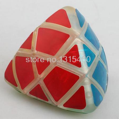 2015 LanLan Mastermorphix magic cubo transparent color puzzle magic square strange-shaped magic the gathering(China (Mainland))