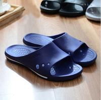 Summer Mens Candy Color Antiskid Portable Shower Bathroom Slippers Lovers Eva Plastic  Men Home Slippers Shoes SP0064