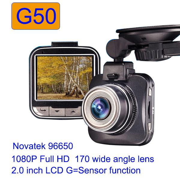 Автомобильный видеорегистратор G50 car dvr 2.0' dvr hd 1080p dashcam G50 96650 170 WDR h.264 автомобильный видеорегистратор anytek at66a 2 7 hd g wdr gps novatek96650 dashcam dvr gps