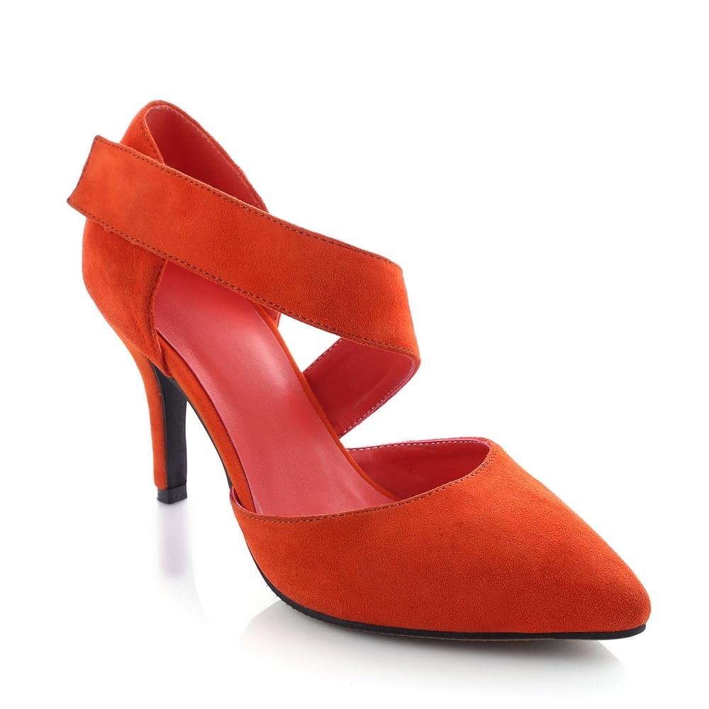 sheepskin Genuine leather high heels Sweet Fashion women sandal,2015 new Summer Casual pointed toe feminine ladies shoes woman(China (Mainland))