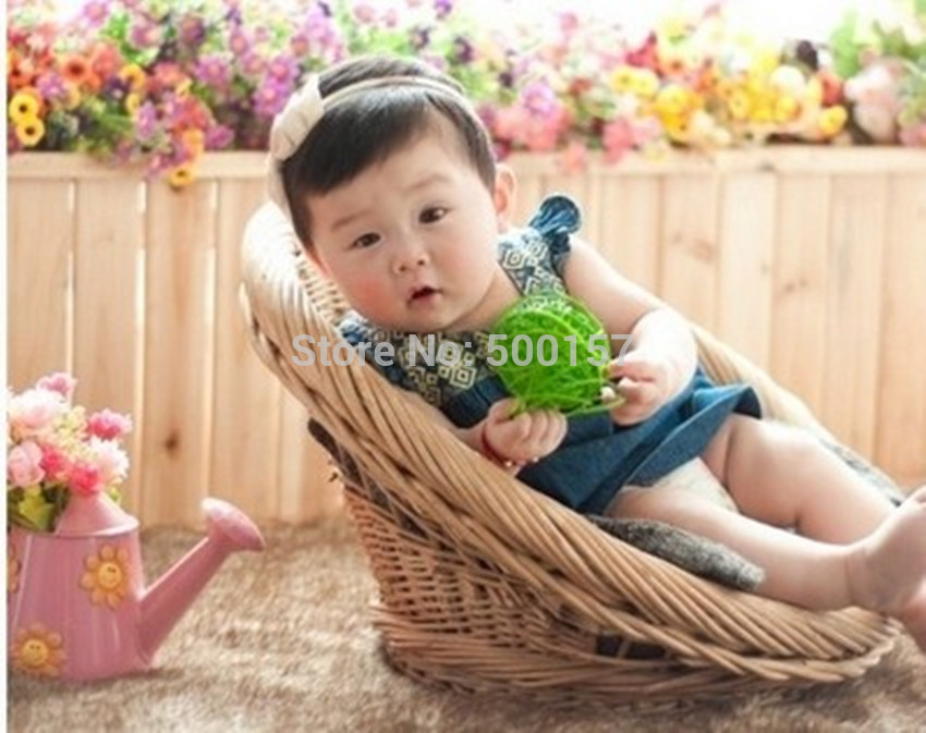 New Design For Newborn Babies Studio's Baskets Photography Studio Props Photo Shoot Box for Baby Photographer D-15(China (Mainland))