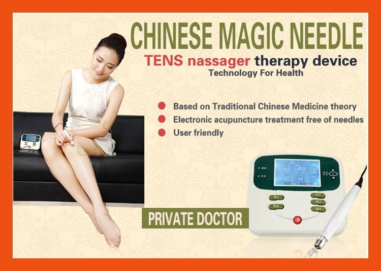 chinese medical equipment clinic use physiotherapy equipment with acupuncture electronic acupuncture tens device magic massager(China (Mainland))