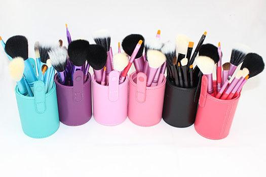 12 Pcs Woman Beauty Makeup brush Set Cosmetic Maquillaje Brushes Professional Pincel Maquiagem Make Up Tools