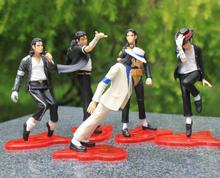 FREE SHIPPING Michael Jackson PVC Action Figure Collection Model Toy 5pcs/set(China (Mainland))