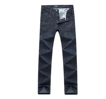 Новые 2015 мужчин весной тонкие джинсы хан издание мужские прямые развивать нравственность мужской одежды длинные брюки