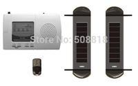 Solar-powered wireless Beam Sensor | Perimeter Security Intrusion Detection System | Add Alarm Detector | 3 beams with convertor