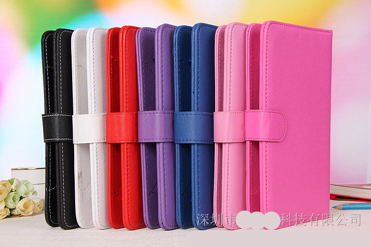 Wholesale 100pcs 2015 New Arrive PU Leather Stand Case Cover with Micro USB Keyboard For 7 Inch Tablet PC DHL Free shipping(China (Mainland))