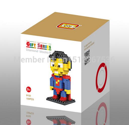 The Avengers Series Building Blocks Minions One Eye Minifigures Cartoon Characters Bricks Loz(China (Mainland))