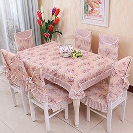 Dobby tablecloth crochet tablecloth cozy table cloth - Nappes de tables ...