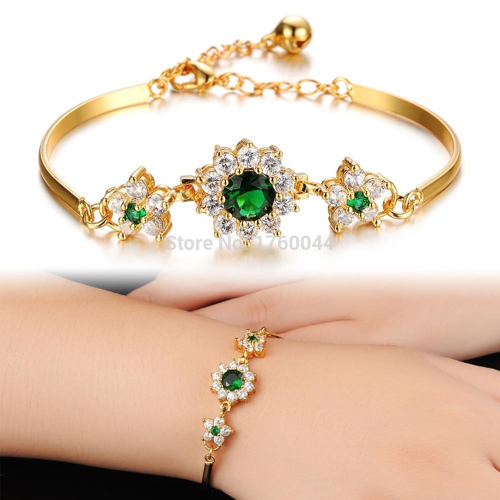 Simple Gold Bracelet For Women