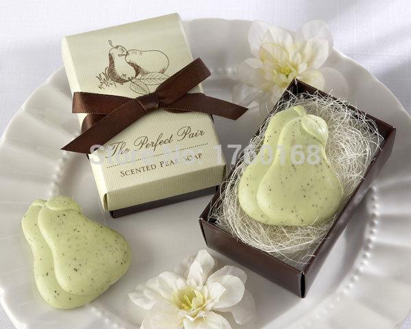 O criativo fashionalbe mini hand soap com caixa de presente para pequenas favores do casamento e presentes de natal(China (Mainland))