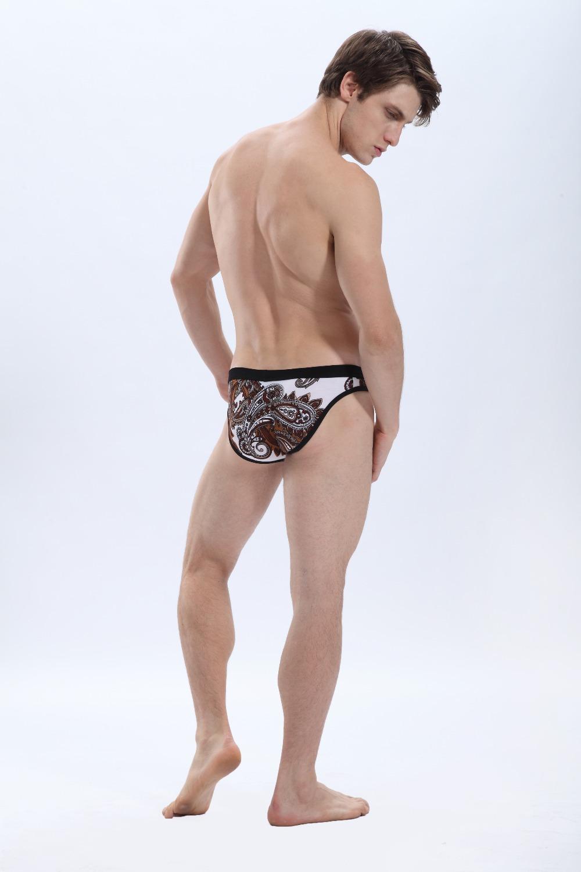 WJ Brand 2015 sexy male man panties healthy breathable men underwear trunk comfortable print shorts underpants