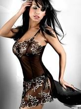 Большой размер 6XL 2015 высокие летние женщины наб. платье пижама 7102 леди сексуальная мода носить можно