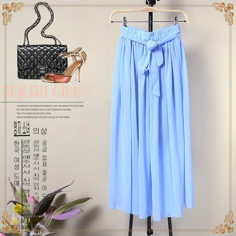 Женская юбка Pleated chiffon skirt 2015 ENC046 юбка женская neurotica pleated blue