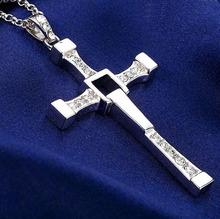 Furious 7 Cross necklace 2015 hot men necklace top quality necklace & Cross pendant Cool Men's jewlery