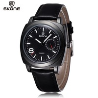 Curren  men leather watch 1396