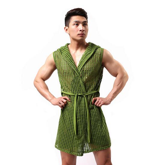 Мужской халат WOXUAN 2015  WX019 купить шелковый халат мужской спб
