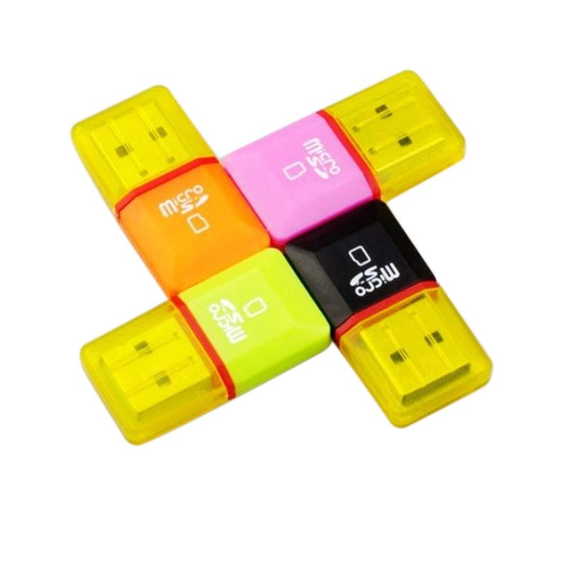 2015 New USB Card Reader Micro SD SDHC TF Flash Memory Card Reader USB 2.0 Adapter(China (Mainland))