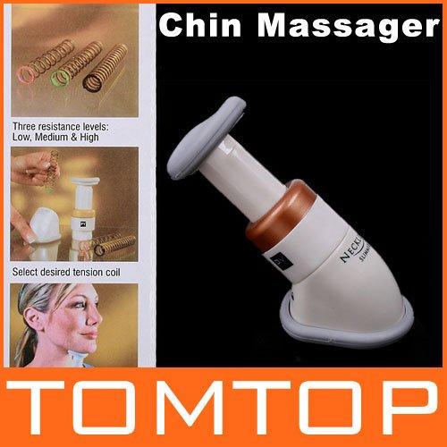 2014 HOT Portable Body Neckline Slimmer Neck Line Exerciser Thin Jaw Chin Massager(China (Mainland))