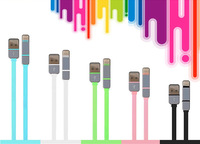 2 in 1 USB Data&Charger Cable 100CM Colorful Durable For iPhone 5 5S 5C 6 for Sumsung LG xiaomi mi4 Android SmartPhone