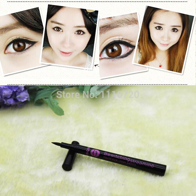 Free Shipping1Pc X Waterproof Black Eyeliner Liquid Eye Liner Pencil Makeup Pen Cosmetic M01171