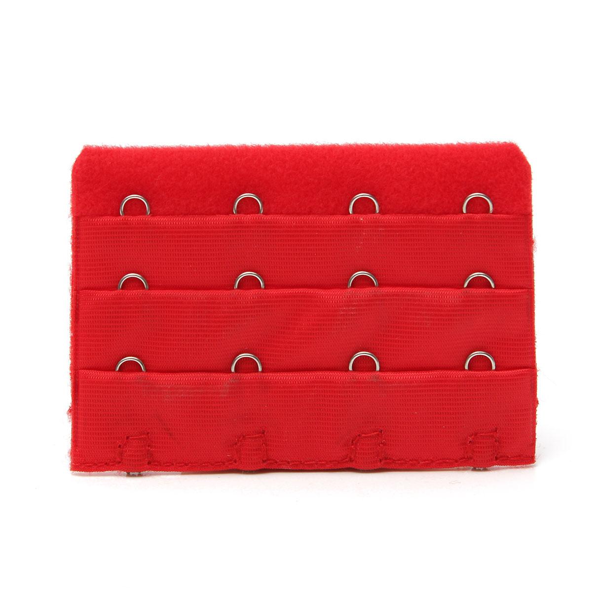 Женщины бюстгальтер 4 ряда 4 крючки бюстгальтер расширители застежки ремешка шитьё инструмент широкий расширение намекает аксессуары
