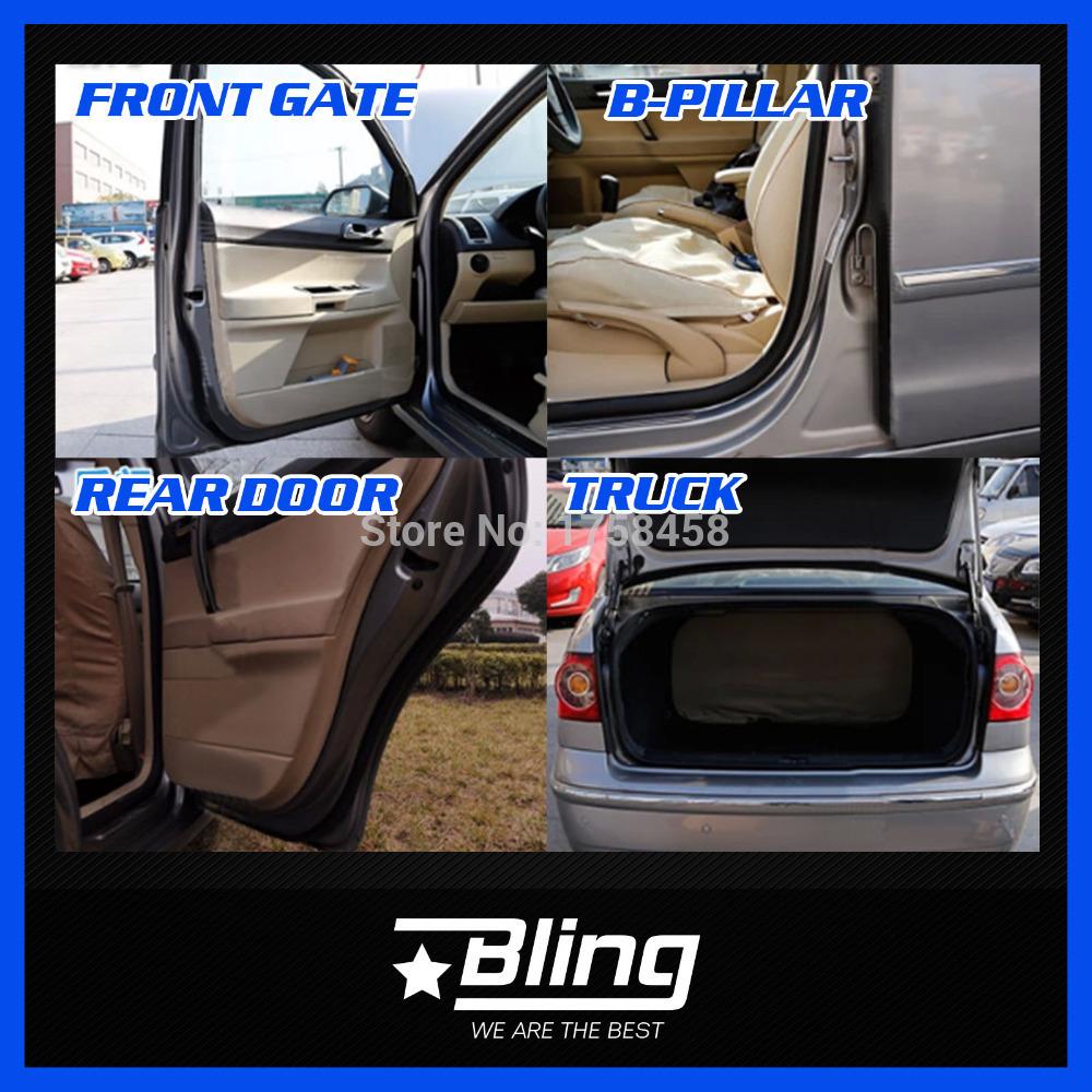 Car Truck Engine B Pillar Edge Rubber Trim D-shape Z-Shape Seal Strip Weatherstrip Sealing Noise Insulation For Honda Fit(China (Mainland))