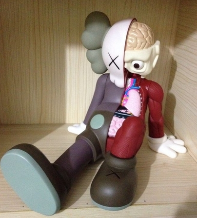 Kaws dissected companion seat display collection/ medicom toy(China (Mainland))
